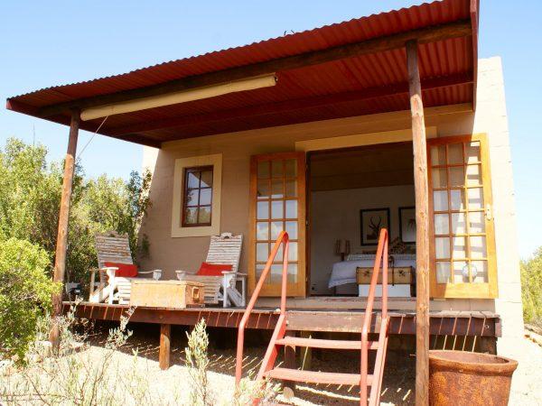 Outside springbok chalet